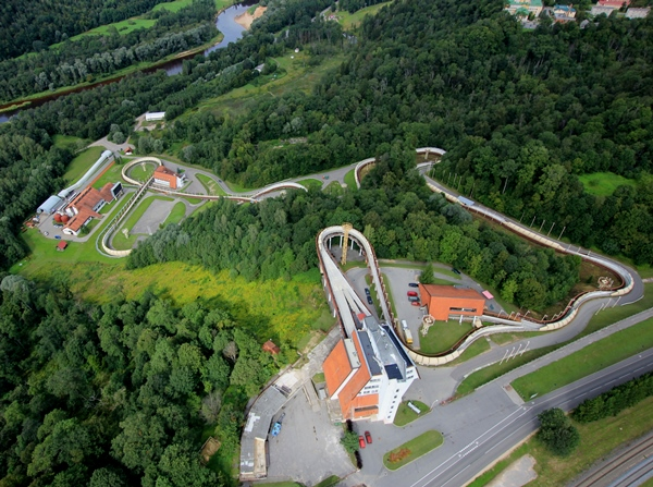 Sigulda Bobsleight track, RD ALFA Microelectronics