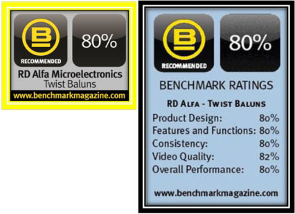 benchmar test report, RD ALFA Microelectronics